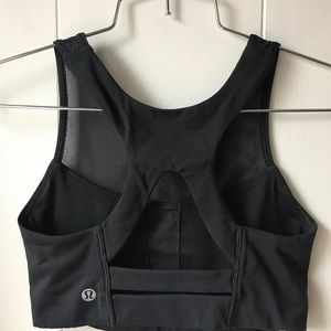 Lululemon Gear Up Bra Black Size 2